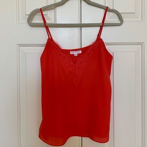 NWT Socialite red lace tank